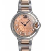 カルティエ時計スーパーコピー バロンブルー 新品33mm WE902053
