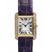 カルティエ時計スーパーコピー タンクアングレーズ 新作SM WT100014