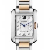 カルティエ時計スーパーコピー タンクアングレーズ コピーSM WT100024