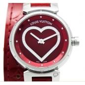 ルイヴィトンスーパーコピー時計 タンブール ヴェルニ革Q121Z