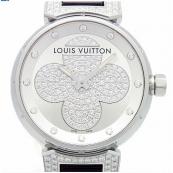ルイヴィトン時計スーパーコピー 型番Q131P タンブール フォーエバー ラグダイヤ 12Pダイヤ