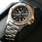 ブライトリングスーパーコピー 時計 オーシャン スティールフィッシュ X-PLUS 黒 A179B72PRS