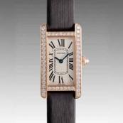 人気 カルティエ ブランド時計スーパーコピー タンクアメリカン SM WB707931