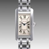 人気 カルティエ ブランド時計スーパーコピー タンクアメリカン SM W26019L1