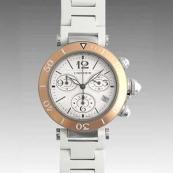 カルティエ時計ブランド通販コピー パシャシータイマーレディクロノ W3140004