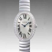 カルティエ時計ブランド 店舗コピー 激安 ベニュワール SM WB520006