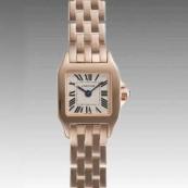 カルティエ 腕時計スーパーコピー ミニサントスドゥモワゼル W25077X9