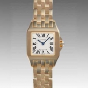 カルティエ 腕時計スーパーコピー サントスドゥモワゼル W25063X9
