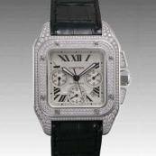 カルティエ 腕時計スーパーコピー サントス100 クロノ WM500651