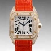 カルティエ 腕時計スーパーコピー サントス100 WM502051