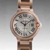 人気 カルティエ ブランド時計スーパーコピー 激安 バロンブルー MM WE9005Z3