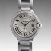 人気 カルティエ ブランド時計スーパーコピー 激安 バロンブルー MM WE9006Z3