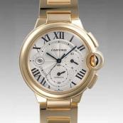 人気 カルティエ ブランド時計スーパーコピー 激安 バロンブルークロノ W6920008