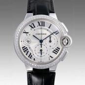 人気 カルティエ ブランド時計スーパーコピー 激安 バロンブルークロノ WE902002