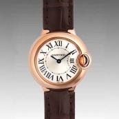 人気 カルティエ ブランド時計スーパーコピー 激安 バロンブルー SM W6900256