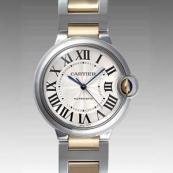 人気 カルティエ ブランド時計スーパーコピー 激安 バロンブルー MM W6920047