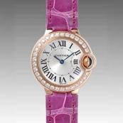人気 カルティエ ブランド時計スーパーコピー 激安 バロンブルー SM WE90025I