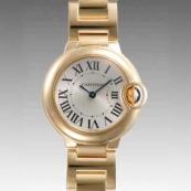 人気 カルティエ ブランド時計スーパーコピー 激安 バロンブルー SM W69001Z2