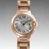 人気 カルティエ ブランド時計スーパーコピー 激安 バロンブルー SM W69002Z2