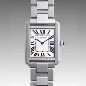 カルティエ時計ブランド 店舗 激安 タンクソロ SM W5200013