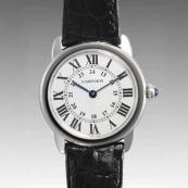 カルティエ時計ブランド 店舗 激安 ロンド ソロ ドゥカルティエ W6700155