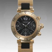 カルティエ時計ブランド通販コピー パシャ シータイマークロノ W301970M