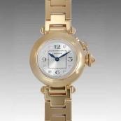 カルティエ時計ブランド通販コピー ミスパシャ WJ124015