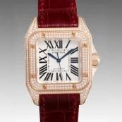 カルティエ 腕時計スーパーコピー サントス100 WM502151