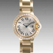 人気 カルティエ ブランド時計スーパーコピー 激安 バロンブルー SM WE9001Z3
