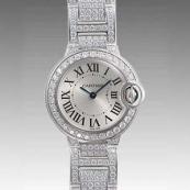 人気 カルティエ ブランド時計スーパーコピー 激安 バロンブルー LM W69006Z2