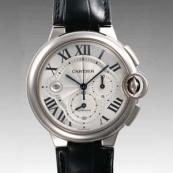 人気 カルティエ ブランド時計スーパーコピー 激安 バロンブルークロノ W6920005