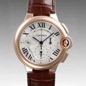 人気 カルティエ ブランド時計スーパーコピー 激安 バロンブルークロノ W6920009