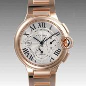 人気 カルティエ ブランド時計スーパーコピー 激安 バロンブルークロノ W6920010
