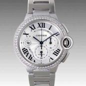 人気 カルティエ ブランド時計スーパーコピー 激安 バロンブルークロノ WE902001