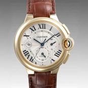 人気 カルティエ ブランド時計スーパーコピー 激安 バロンブルークロノ W6920007