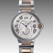 人気 カルティエ ブランド時計スーパーコピー 激安 バロンブルー 2タイムゾーン W6920027