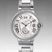 人気 カルティエ ブランド時計スーパーコピー 激安 バロンブルー 2タイムゾーン W6920011