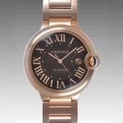 人気 カルティエ ブランド時計スーパーコピー 激安 バロンブルー LM W6920036