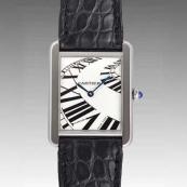 カルティエ時計ブランド 店舗 激安 タンクソロ インデックスアニメーション W5200017