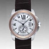 カルティエ時計ブランド 店舗 激安 カリブル ドゥ W7100039