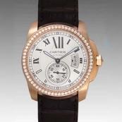 カルティエ時計ブランド 店舗 激安 カリブル ドゥ WF100005