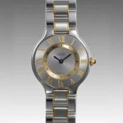 カルティエ時計ブランド 店舗 激安 マスト21 W10073R6