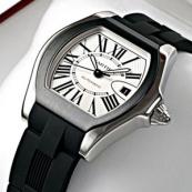 ブランド カルティエ時計スーパーコピー ロードスター S シルバーオパラインダイアル W6206018