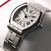 ブランド カルティエ時計スーパーコピー ロードスター S シルバーオパラインダイアル W6206017