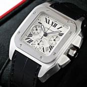 ブランド カルティエ時計スーパーコピー サントス100クロノ W20090X8