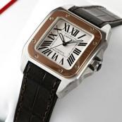 ブランド カルティエ時計スーパーコピー サントス100MM W20107X7