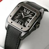 ブランド カルティエ時計スーパーコピー サントス100 カーボン W2020008