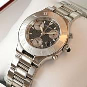 ブランド カルティエ時計スーパーコピー クロノスカフ W10172T2 黒