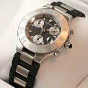 ブランド カルティエ時計スーパーコピー クロノスカフ W10125U2