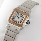 ブランド カルティエ時計スーパーコピー サントス ガルベ 18Kピンクゴールド/ステンレスコンビW20103C4